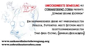 Schweinis vegane Kochshow